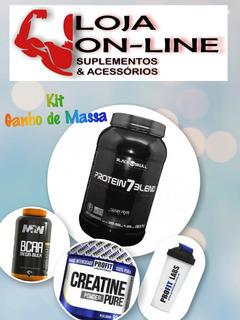 Kit De Suplementos: Whey + Bcaa + Creatina + Coqueteleira