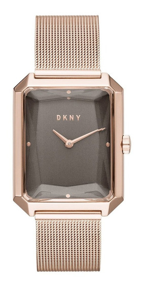 Reloj Dama Dkny Cityspire Ny2710 Rosa Oro Original
