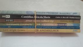 Livros Espirita Aut Diversos Lote 9 Usados 6 Unid.
