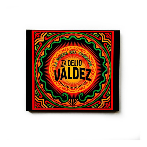 Disco Cd La Rueda Del Cumbión - La Delio Valdez