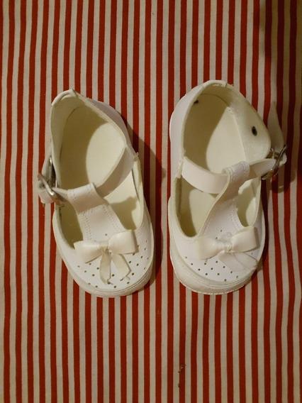 Zapato Bebé Nena No Caminante Para Bautismo, Casamiento