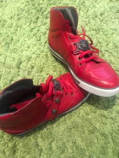 Tenis Versace Rojos