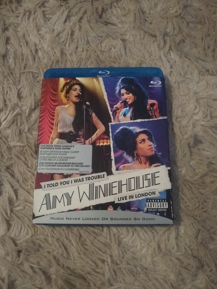 Blu-ray Amy Winehouse Live In London
