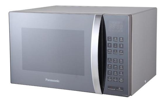 Microondas 30 Lts Panasonic Nn-gt68hsrue Inoxidable