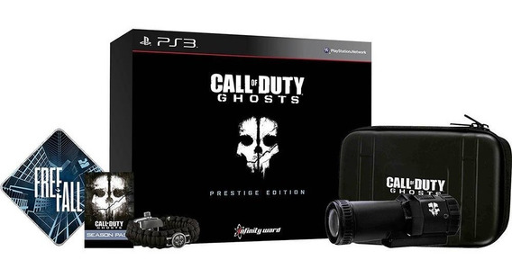 Call Of Duty Ghosts - Prestige Edition + Câmera Hd 1080p