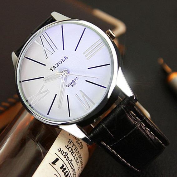 Relógio Yazole 315 Quartz Analógico De Pulso Masculino