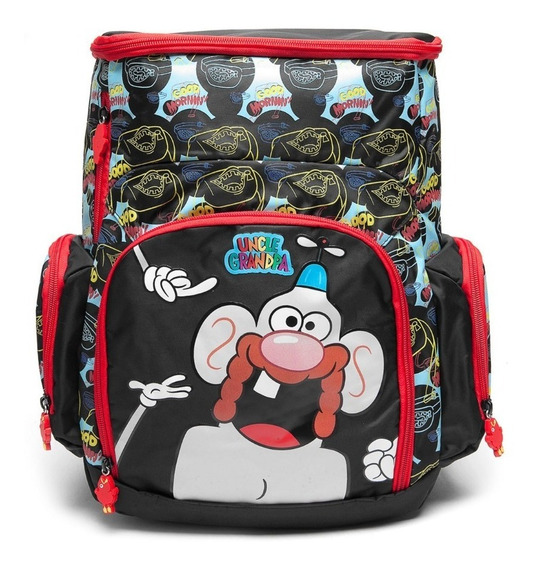Mochila Titio Avô Uncle Grandpa 49133 Original + Pochete