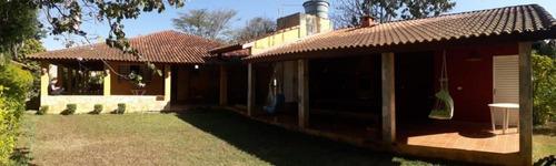 Linda Chácara A Venda Em Quadra/sp - Local Tranquilo - 600