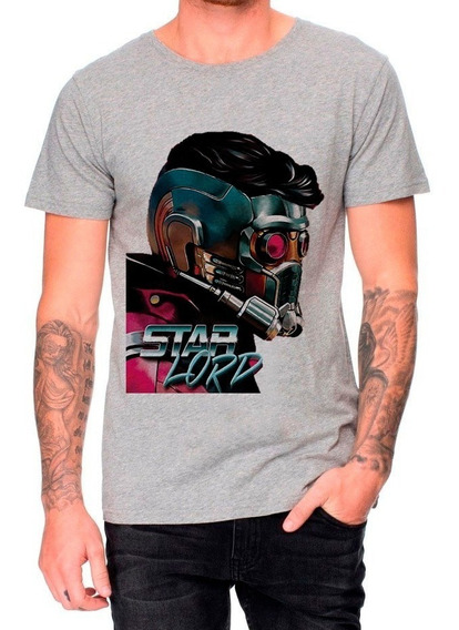 Remeras Marvel Star Lord Kame House Remeras