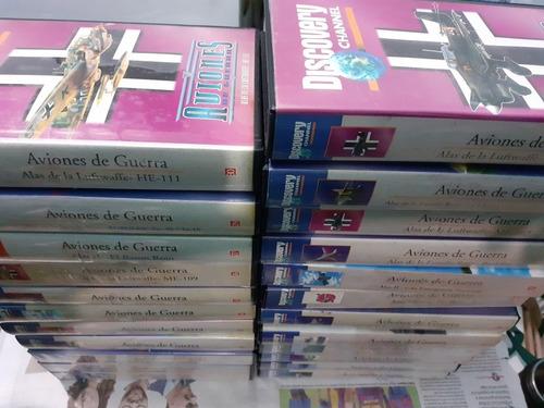 Aviones De Guerra, Vhs,  Discovery Channel, 23 Videos