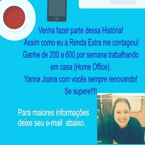 Imagem 1 de 1 de Faça Parte Da Nossa Equipe! Renda Extra Já!