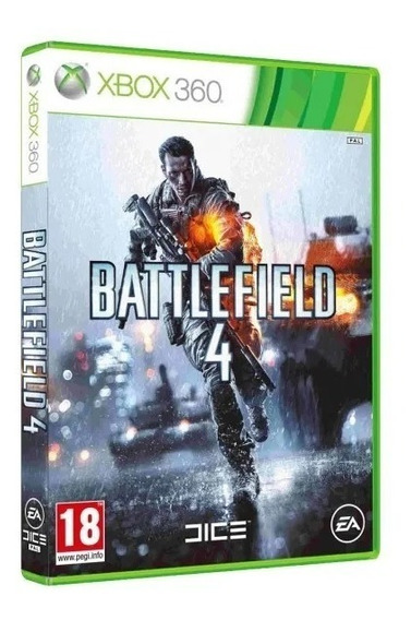 Batlefield 4 Xbox360 Midia Fisica Jogo Original Novo Lacrado