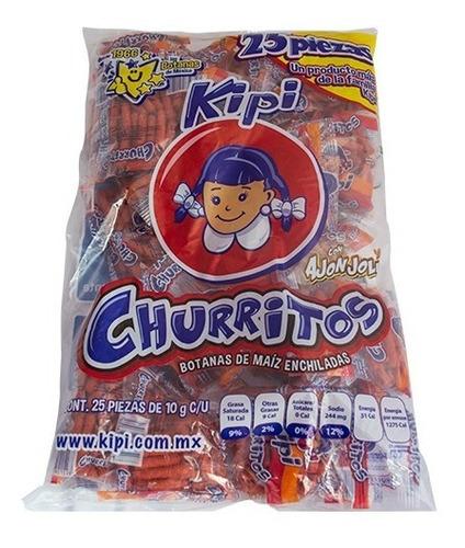 Imagen 1 de 5 de Churritos Kipi 25 Pzas