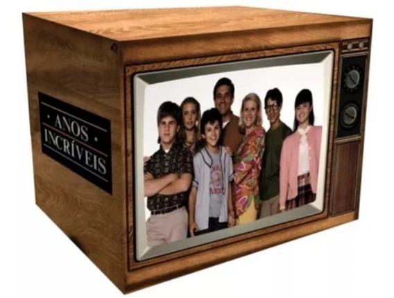 Box Dvd Anos Incríveis A Série Completa Tv Retrô 23 Dvds
