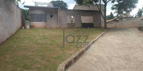 Chácara Com 2 Dormitórios À Venda, 1303 M² Por R$ 550.000,00 - Parque Jatibaia (sousas) - Campinas/sp - Ch0325