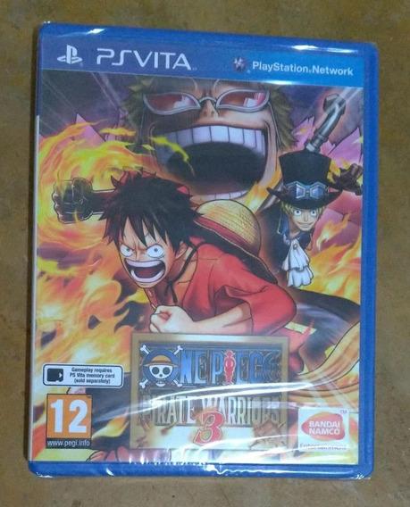 One Piece Pirate Warriors 3 Psvita Lacrado