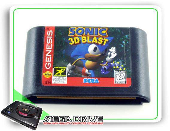 Sonic 3d Blast Original Sega Mega Drive / Genesis