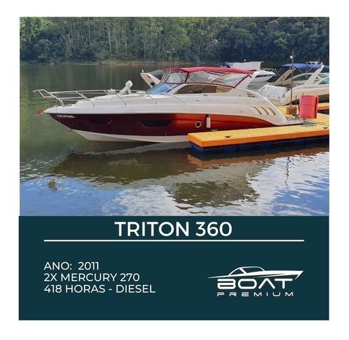 Triton 360, 2011, 2x Mercury 270hp - Cranchi - Ferretti