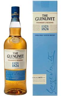 Whisky The Glenlivet Single Malt Con Estuche 750ml