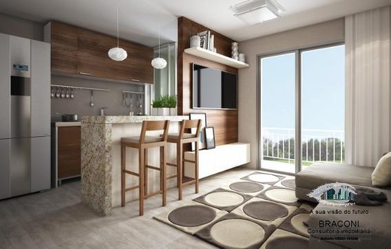 Apartamento De 2 Dorms Perto Centro De Ferraz - 6907