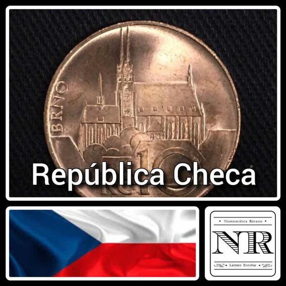 Republica Checa - 10 Korunas - Año 2018 - Km # 4 - Catedral