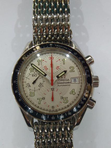 Relógio Omega Speedmaster Date Safira. Linda Configuração