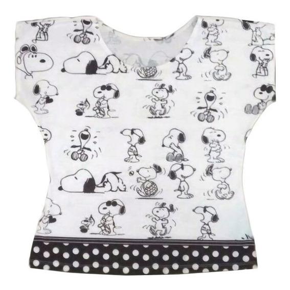 Blusa Snoopy Mãe Igual Filha