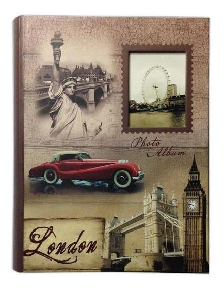 Álbum 200 Fotos 10x15 C/visor London Wb-46200-487 Square