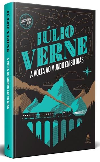 A Volta Ao Mundo Em 80 Dias Capa Dura Livro Júlio Verne