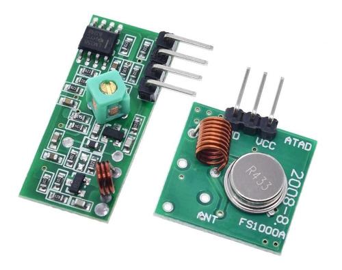 Modulo Rf 433 Mhz Transmisor Y Receptor Arduino