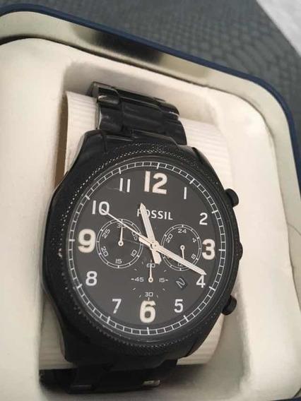 Relógio Fóssil Na Caixa ! Oportunidade Única.