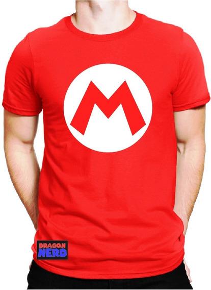 Camiseta Mario Bros Super Nintendo Camiseta Games Geek 1up
