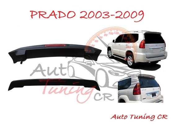 Coleta Spoiler Compuerta Trasera Toyota Prado 2003-2009