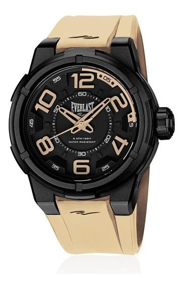 Relógio Everlast Masculino Torque E694 Caixa Abs E Pulseira