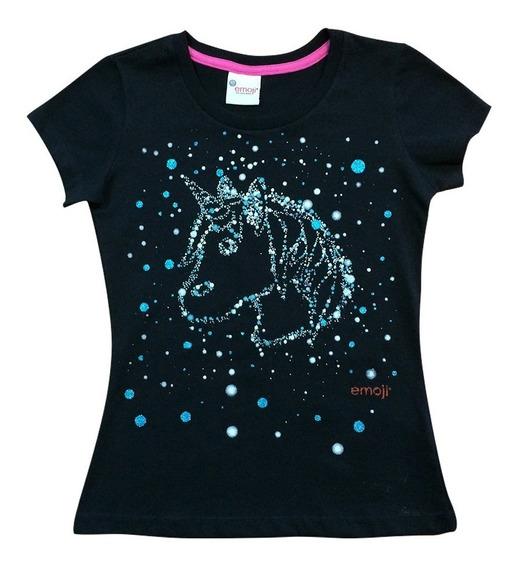 Blusa Unicornio Mágico Emoji Oficial Para Teens