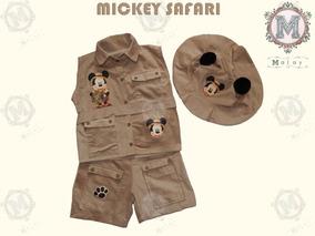 Fantasia Mickey Safari Luxo Infantil