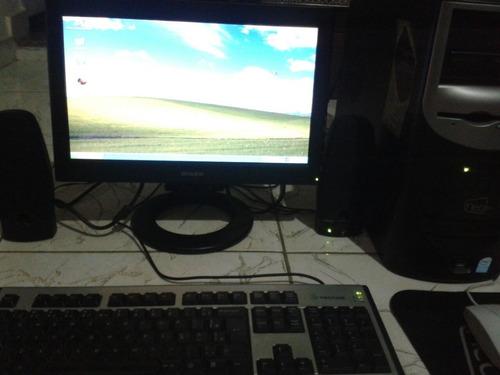 Imagem 1 de 5 de Computador Completo Com Impressora