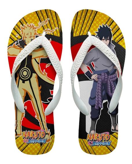 Chinelos Havaianas Personalizados Naruto E Sakuke [3]