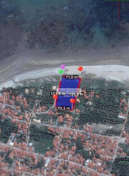 Terreno À Venda, 380 M² Por R$ 240.000 - Centro - Flecheiras/ce - Te0394