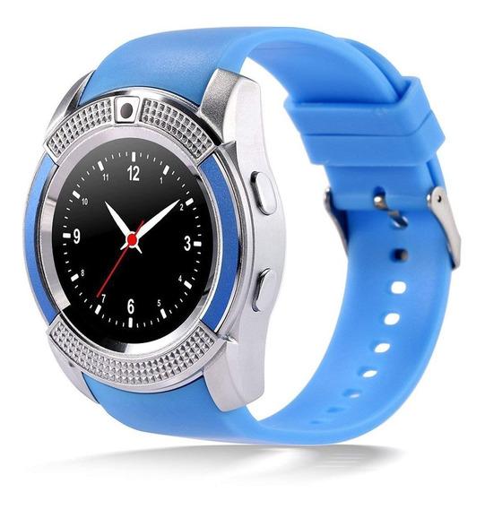 Reloj Inteligente Smartwatch V8 Bluetooth / Mundo Electro