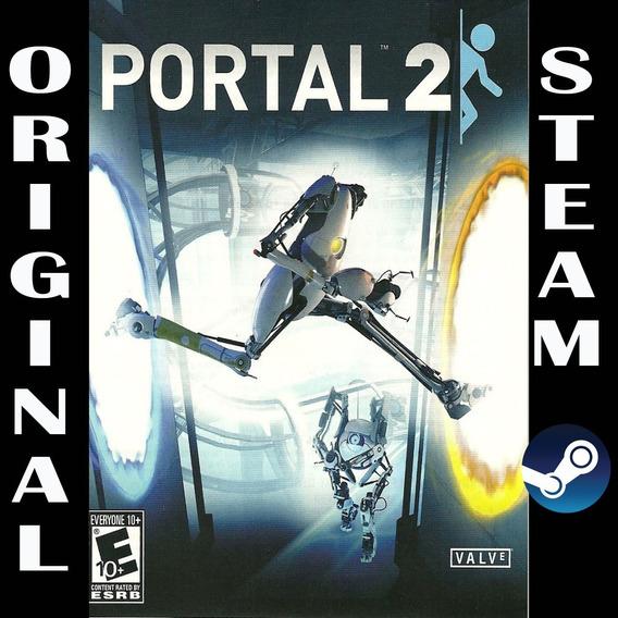 Jogo Portal 2 Steam Pc Original Steam Gift