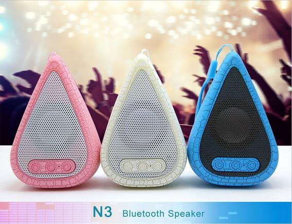 Mini Caixa De Som Bluetooth Recarregável.