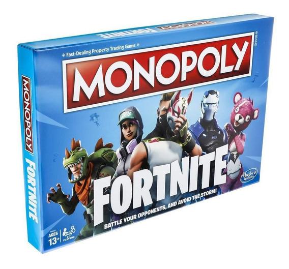 Jogo Monopoli Monopólio Fortnite Edition Hasbro