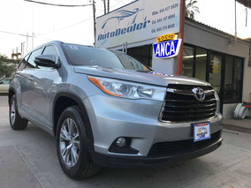 Toyota Highlander 2015 3.5 Xle V6 At