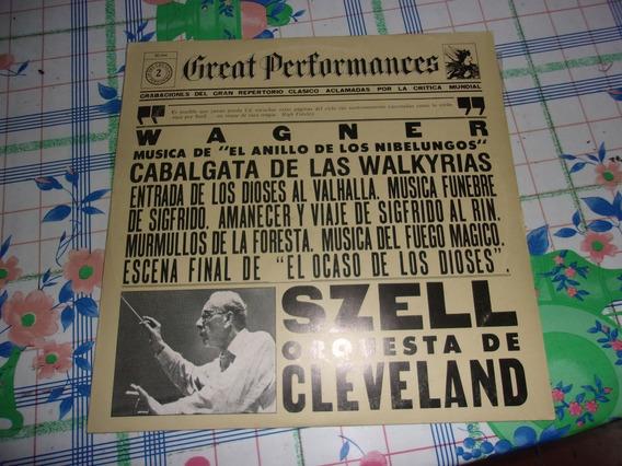 Great Performances: Wagner - Lp Vinilo 1981 Nacional Ex