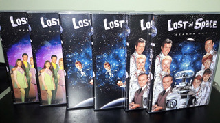 Dvd Box Perdidos No Espaço - Série Dublada (23 Dvds )