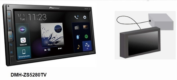 Multimidia Pioneer Dmh-zs5280tv Weblink Youtube Câm Ré 2020.