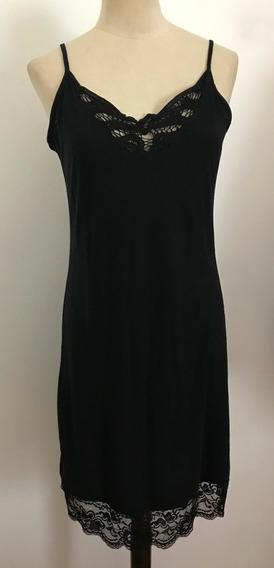 Super Sale! Rapsodia. Vestido Negro. Talle M (con Detalle)