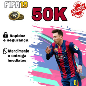 Fifa 19 Coins Ps4 50k Ultimate Team- Envio Imediato