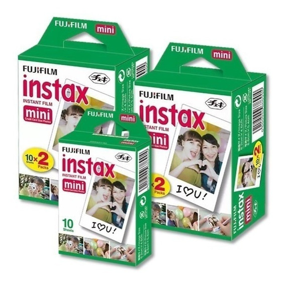 Fujifilm Instax Mini Película Instantánea (50 Hojas)